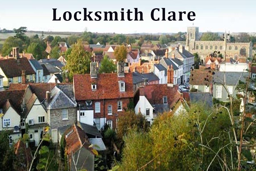 Locksmith in Clare, Suffolk