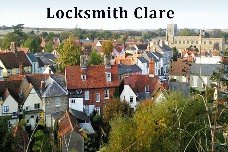 Locksmith in Clare, Suffolk